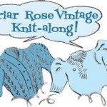 Briar Rose Vintage KAL: Resizing the knitting pattern, Part 2