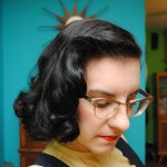 How I do a late 30s/early 40s sponge roller set (and avoid dents!)