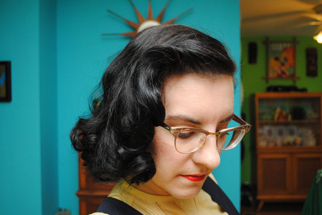 30s Hairstyle: How I Do A Late 30s/early 40s Sponge Roller Set (and Avoid
