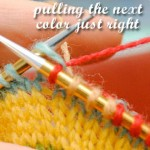 VKC: Tension, puckers & even stranded knitting