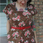 Finished project: 1944 Apple picking dress