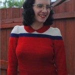 Knit it in Flag Colors – finished Ravellenic Games project