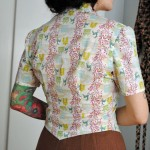 Finished: inspired by Debi 1942 McCall blouse