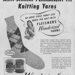 Vintage knitting patterns: 1947 sport socks