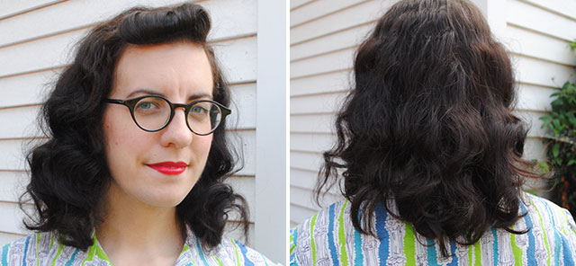 How To Style Permed Hair After Shower Captivating A Week With My First Permanent Wave Gumgolly