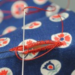 Making buttonholes by hand