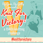 Knit for Victory now has a Ravelry group