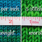 Fit & knit a 40s pullover series: resizing the body (Part 1)