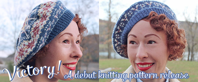 Victory: a debut knitting pattern release