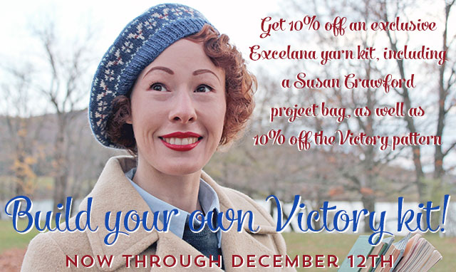 10% off! Victory kit and pattern