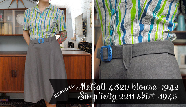 McCall 4820 and Simplicity 2211