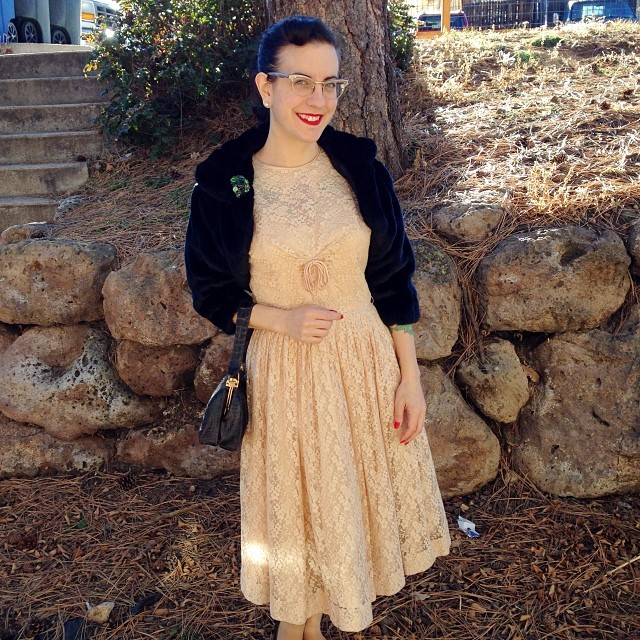 1950s wedding guest attire by gum by golly