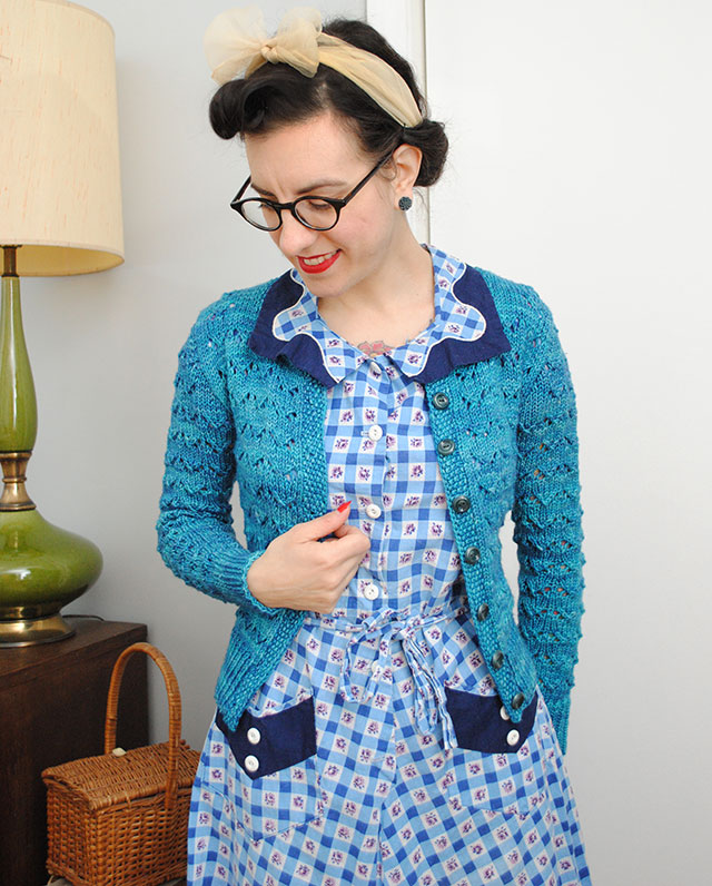 Knit for Victory Hetty cardigan