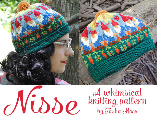 Nisse Knitting Pattern Release By Gum By Golly