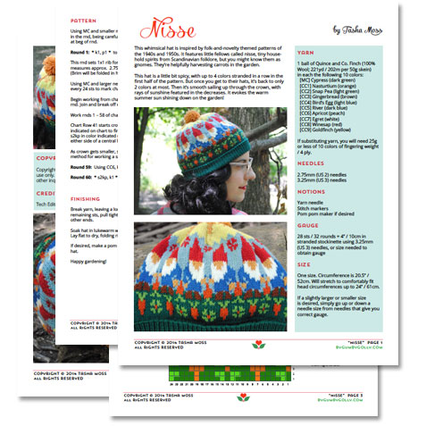 Nisse knitting pattern