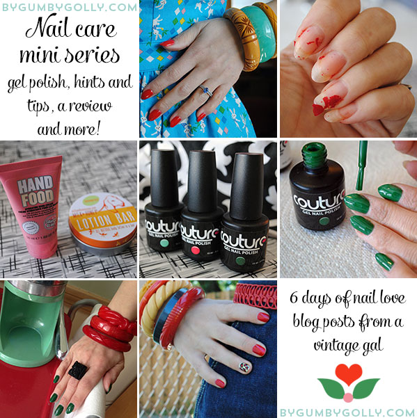 Nail care mini series at By Gum, By Golly