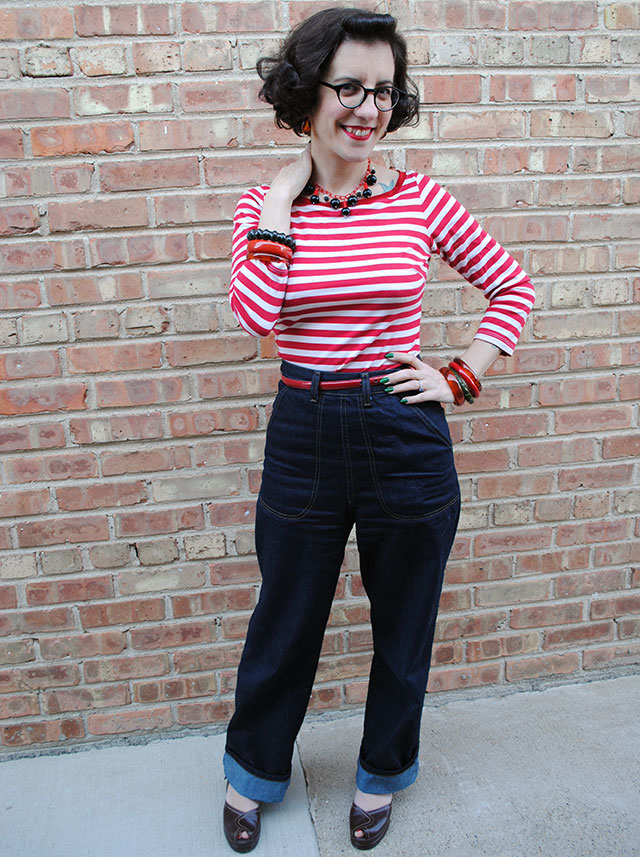 Stripes And Denim By Gum By Golly