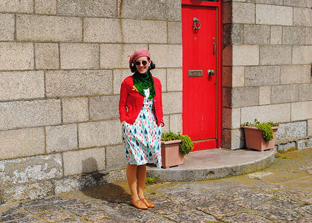 Howth and Singin' in the Rain dress