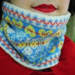 Fenella yarn and a fair isle cowl
