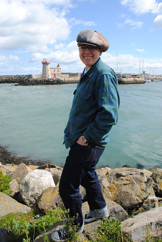 Mel in Howth, Ireland