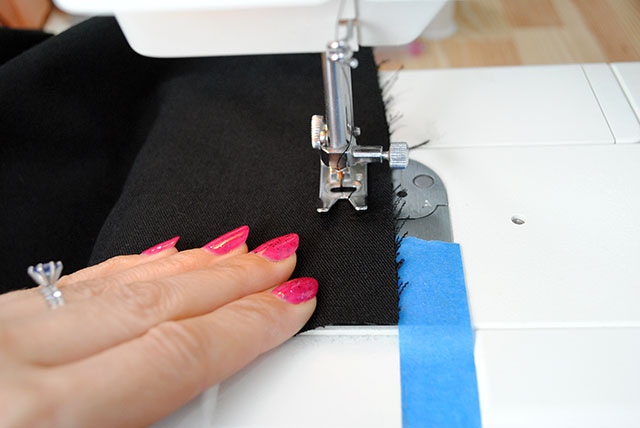 sewing with no pins