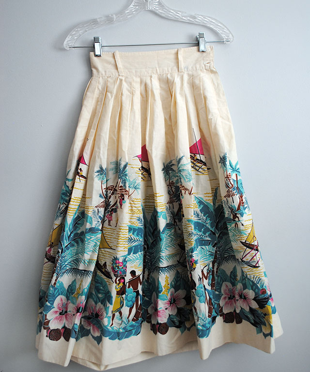 vintage Hawaiian skirt