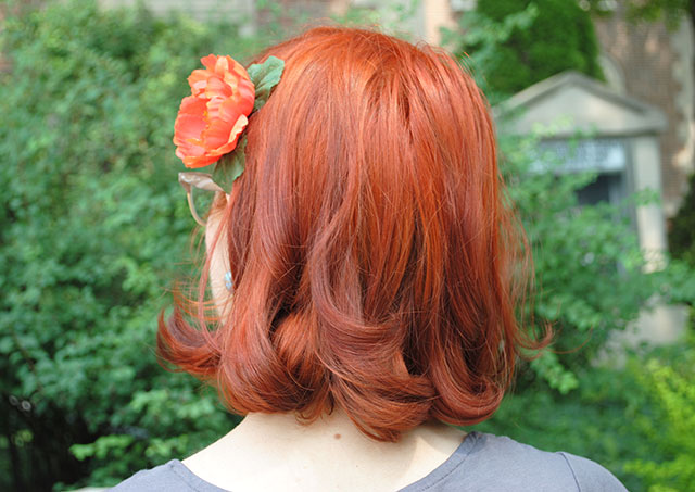 the latest member of the redhead club by gum by golly