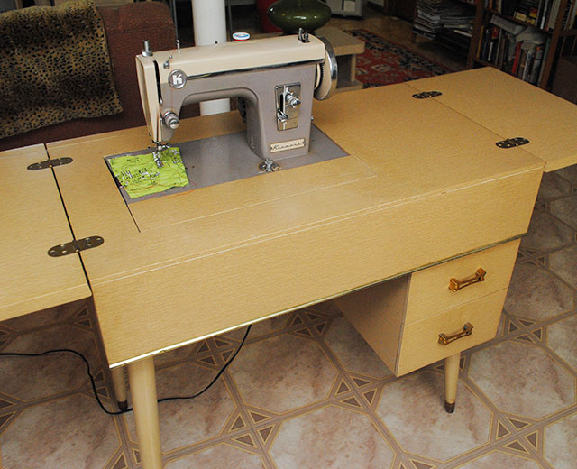 Kenmore 86 sewing machine and cabinet