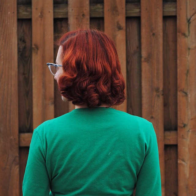 It's days like today when I realize yes, it is TOTALLY worth this six week upkeep to be a redhead. ❤❤️️ (And yeah those roots get fixed next week. ?)
