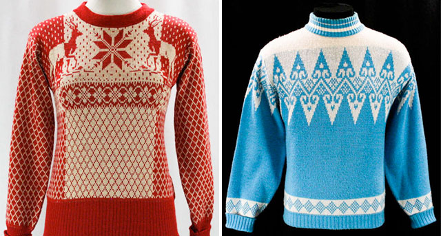 ski pullovers from Vintage Vixen