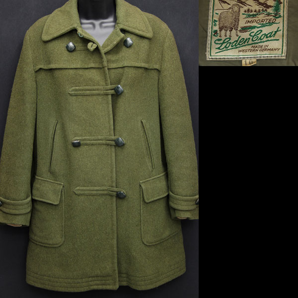 1960s German Loden coat for sale on Vintage Trends