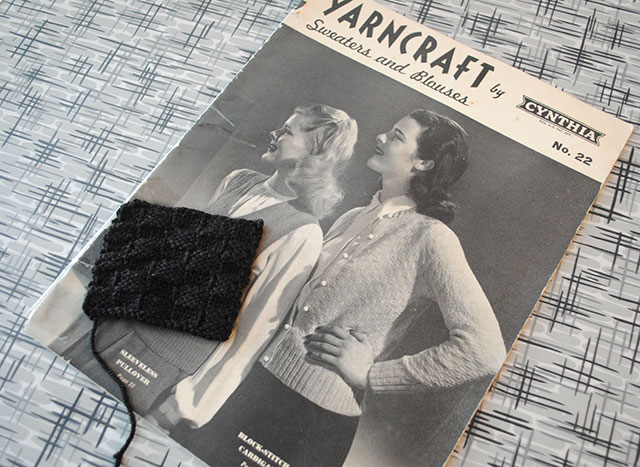 Yarncraft by Cynthia vintage knitting booklet