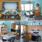 Tour of our retro kitschy kitchen!