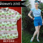 A Vintage Pledge refashion and a pair of shorts