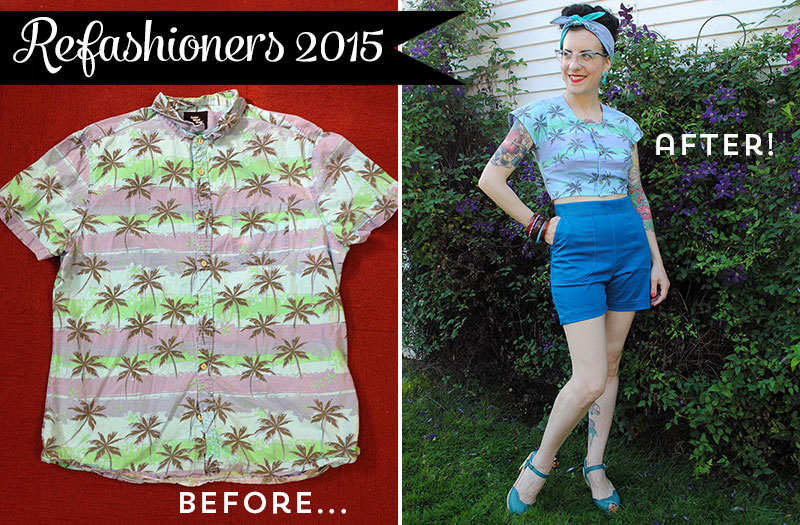 Refashioners 2015 - before and after