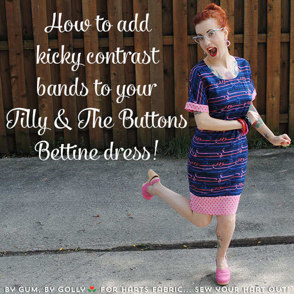 My Bettine dress hack tutorial at Sew Your Hart Out