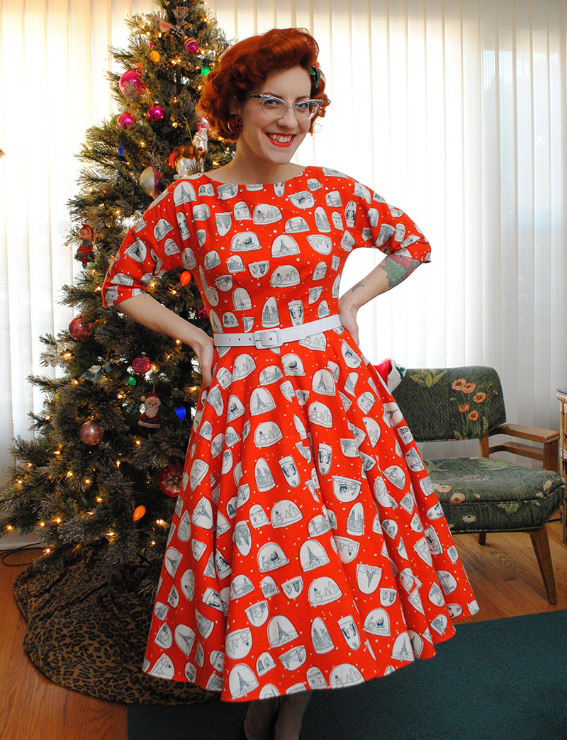 Patterns for Christmas Dresses