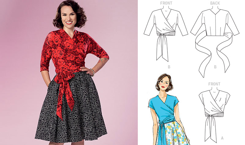 Butterick B6285 pattern views