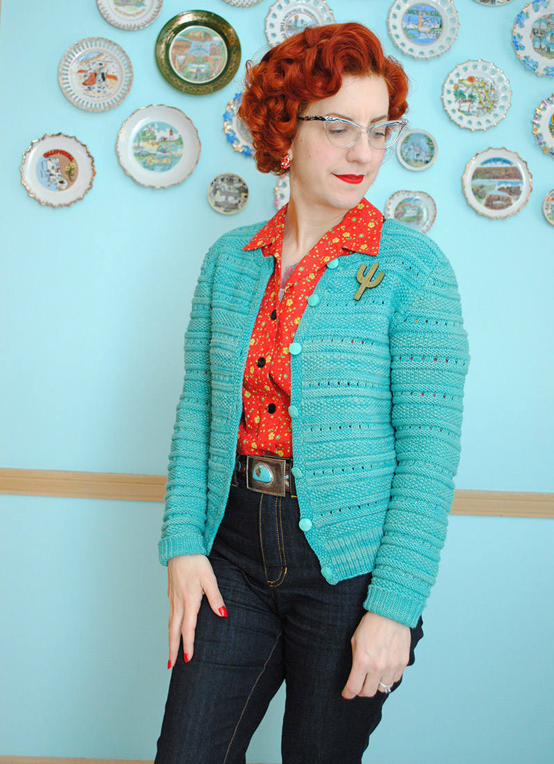 Cath Kidston inspired cardigan