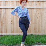 Retro take on Ginger jeans, a year later