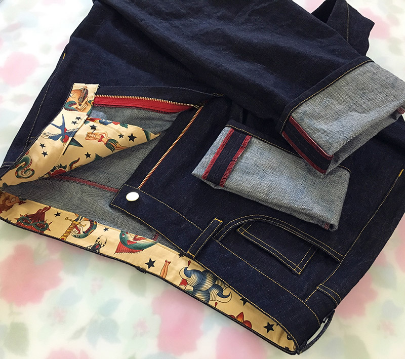Rockabilly Morgan jeans for Mel