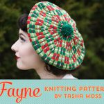 Fayne beret: new knitting pattern release