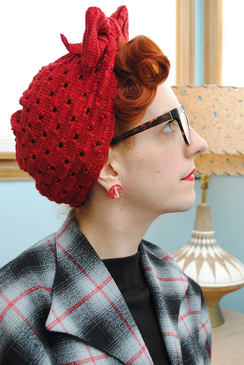 Grab and go knitting: an Angel Face turban | By Gum, By Golly