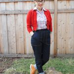 1950s-style cuffed jeans (and informal video extravaganza!)