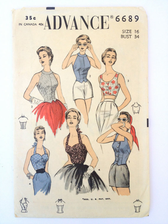 Halter style inspirations for summer | By Gum, By Golly