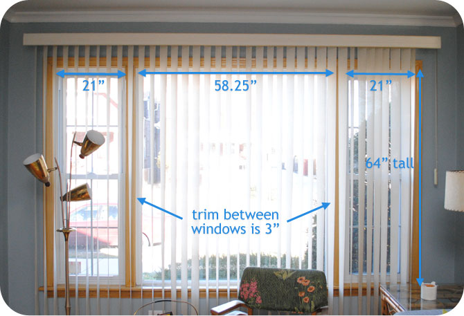 Help picking mid century living room window treatments for Window treatments for double hung windows