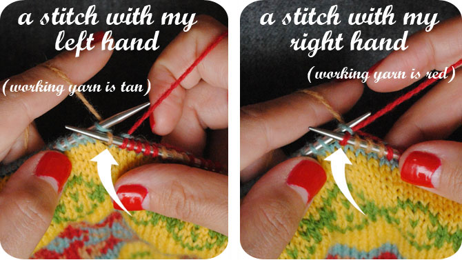 VKC: Getting started with stranded (fair isle) knitting   By Gum ...