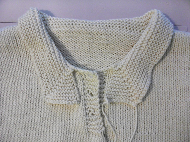 Knitting A Sweater Neckline : Briar rose vintage kal: two ways to knit the collar by gum golly