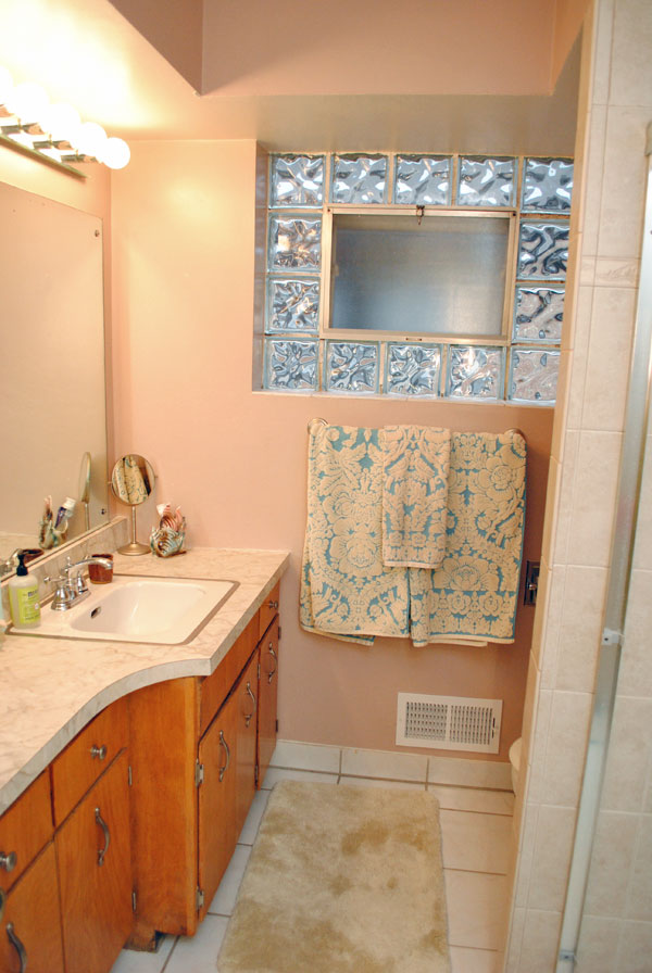 The golly ranch bathroom remodel before during for Small ranch house remodel