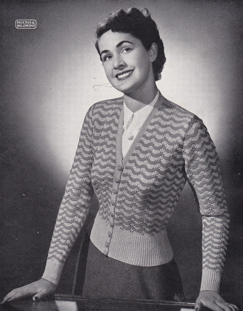 Vintage knitting pattern find: Patons Knitting Book No. 294 By Gum, By Golly